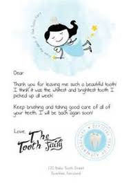 free tooth fairy letters print examples good resumes