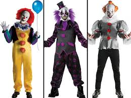 Irish Halloween Costume Pennywise Clown Costumes Poised Halloween Costume Trend