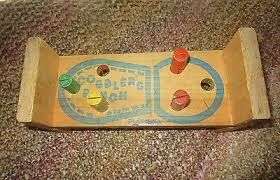 Playskool Cobblers Bench Vintage Wooden Playskool Cobblers Bench Toy With Hammer And Pegs