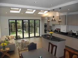 living kitchen ideas living room living room extensions beautiful on throughout kitchen