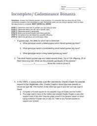 sbi3u 8 incomplete dominance worksheet oise
