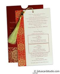 Red Wedding Invitation Cards Magnificent Royal Red Invitation Card With Dori Ic 31