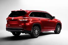 toyota 2016 models usa 2017 toyota highlander first look review motor trend
