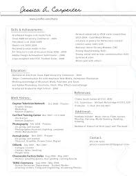 Carpenter Resume Samples by Carpenter Resumes Free Resume Example And Writing Download