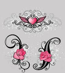 tattoos 3117 pink design tattoos 1000