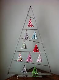 tree decorations origami holliday decorations