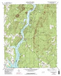 National Forest Map Colorado by Morrow Mountain Topographic Map Nc Usgs Topo Quad 35080c1