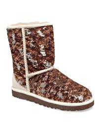 ugg sale at lord and lyst ugg sparkles sequin textile and suede boot in