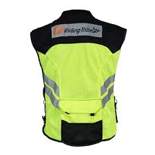 motorcycle riding vest motorcycle safety reflective waistcoat hi vis motorbike riding