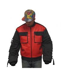 Marty Mcfly Costume Space Dandy Baseball Jacket