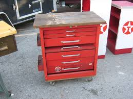 cool kitchen island snapon tool chest and slat board oak top