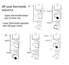 water heater wiring to white electric diagram thermostat does a