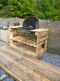 Meuble Exterieur En Palette by Instructions Et Des Plans Pour Construire Un Barbecue Avec