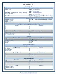 business plan sample in word startup business plan template