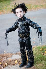 edward scissorhands costume simple yet effective edward scissorhands costume for kiddos