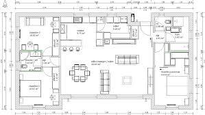 plan maison plain pied 100m2 3 chambres plan maison en l m 6238 sprint co