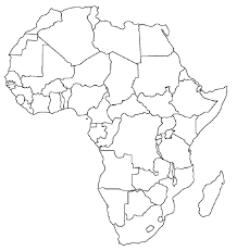 Africa Physical Map Download Coloring Pages From Page Free Printable Africa Physical