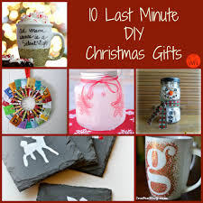 Homemade Christmas Presents by Last Minute Diy Christmas Gifts