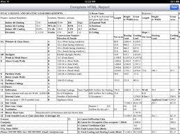 Hvac Load Calculation Spreadsheet by Hvac Load Calculation Spreadsheet Greenpointer