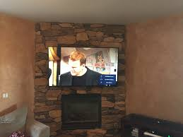 television over fireplace tv over fireplace installation in colorado springs