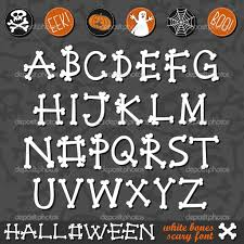 16 halloween creepy alphabet fonts images scary halloween
