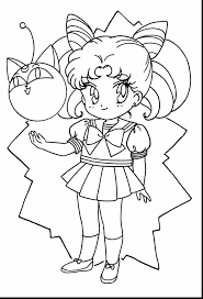 marvelous sailor chibi moon coloring pages with chibi coloring