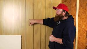 Wood Paneling Walls Drywalling Over Paneled Walls Drywall Help Youtube