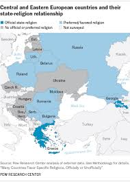 Eastern Europe Iron Curtain Religion A Part Of National Identity In Central Eastern Europe