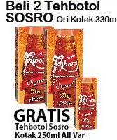 Teh Kotak Sosro 330ml promo harga tehbotol sosro teh terbaru minggu ini hemat id