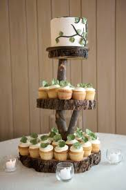 rustic wedding cake stands stand up and make a statement with rustic wedding cake stands for