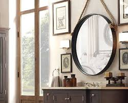 Pottery Barn Mirrors Bathroom by Best 25 Mirror Ideas On Pinterest Nautical Bathroom