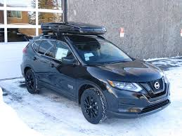 2017 nissan rogue blue cascade rack 2017 nissan rogue star wars edition roof rack and