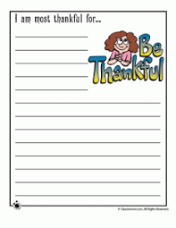 Thanksgiving Writing Paper Printable Thanksgiving Day Writing Prompts Woo Jr Kids Activities