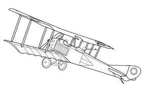 imprime le dessin à colorier d u0027avion