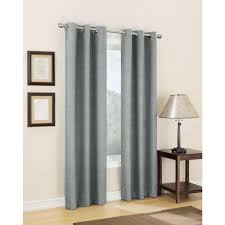 Gray And Teal Curtains Sun Zero Curtains Drapes Window Treatments The Home Depot