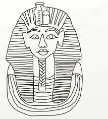 ancient egypt coloring page king tut coloring pages funycoloring