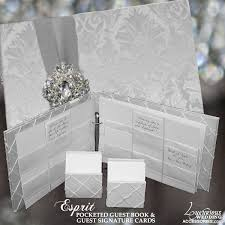 wedding guest book and pen set luxurious wedding accessories chagne flutes cake sets