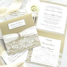 wedding invitations reviews wedding invitations paper ivory and gold square wedding invitation