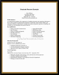 Summer Job Resume Sample Job Job Resume Examples For College Students