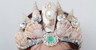 halloween crowns and tiaras here u0027s everything you need to be a mermaid this halloween huffpost