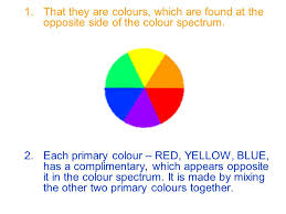 opposite colours the colour wheel ppt video online download
