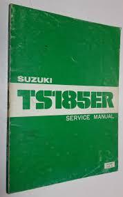 genuine suzuki ts185 er ts185er workshop service repair manual