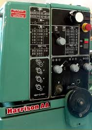 harrison vs330 u0026 aa lathes