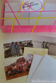 cadeau 60 ans de mariage une boîte à souvenirs pour les 60 ans idée de cadeau personnalisé