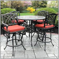 Patio Chairs Bar Height Luxury High Patio Set For Image Of Amazing Outdoor Bar Height