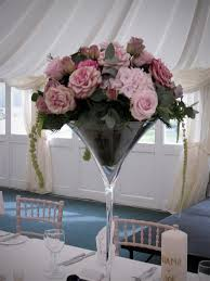 martini table with bird wedding table centerpiece in a martini glass vase amazing