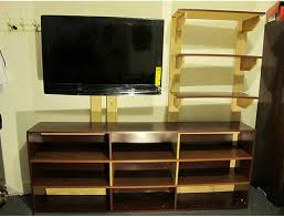 A Bookcase 50 Creative Diy Tv Stand Ideas For Your Room Interior Diy
