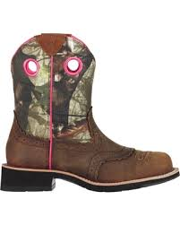 ariat womens cowboy boots size 12 deals on ariat s fatbaby camo
