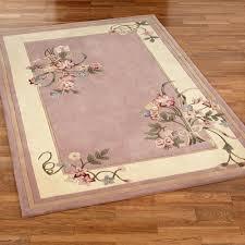 floral bouquet dusty mauve area rugs