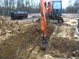 daewoo 75v grading dirt